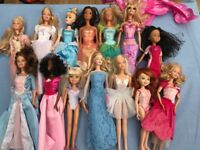 Large Collection of Barbie Dolls.