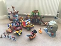 Fisher Price Jake and the Neverland Pirates Playsets
