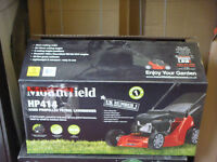 NEW MOUNTFIELD PETROL MOWER MODEL HP414 WILL BE ASSEMBLED READY FOR USE FULL WARRANTY