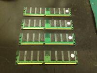 2 Gigabyte DDR1 PC2700 333Mhz 184 pin NON-ECC RAM DDR Desktop Memory