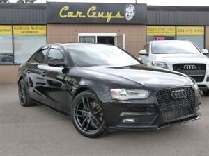 2013 Audi A4 2.0T - 6 SPD Manual, RS4 Grille, 19 Alloys