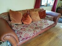 Two beautiful Chesterfield sofas