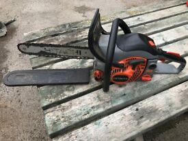 Hitachi CS 33EB 14 Inch Bar - Petrol Chainsaw - NOT RUNNING - Spares or Repairs