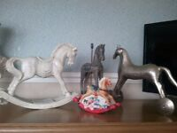 SELECTION OF ROCKING HORSES /HORSES