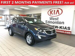 2013 Kia Sportage LX AWD 2.4L,FIRST 2 MONTHS PAYMENTS FREE!!