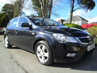 KIA CEED 2 1.6 TD DIESEL 2009 FSH COMPLETE WITH NEW M.O.T HPI CLEAR READY TO DRIVE AWAY TODAY