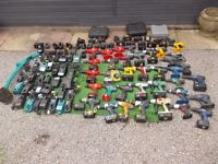 Cordless drills chargers and batteries job lot clearout