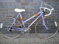 Vintage ladies Peugeot Premiere Road bike,10speed,Lightweight 50cm frame,700c wheels,Totaly original