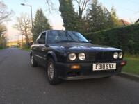 BMW E30 318i 2 door black manual