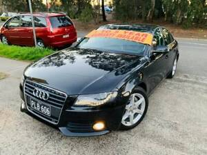 MY11 2010 Audi A4 TFSi Quattro AWD 4x4 6 Spd MANUAL LOGBOOKS MAGS A1 Sutherland Sutherland Area Preview
