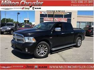 2014 Ram 1500 Crew 4X4 Longhorn Limited 8.4navigation Sunroof