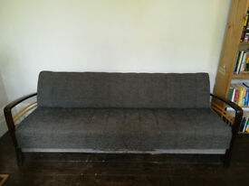 Mid-century Sofa Bed with Storage