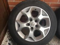"5x110 16"" vauxhall alloys vectra Astra Zafira etc"