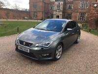 2013 Seat Leon FR 2.0 TDI Technology Pack 30k £20 TAX *BARGAIN!!!* not dsg a3 bmw tsi vw golf