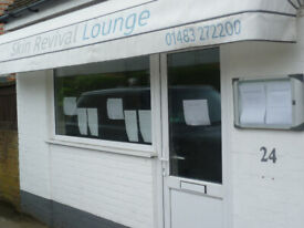 Hairdresser/Nailbar/Agency all possible in onstreet small office to rent in Cranleigh