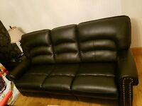3 seater 2 seater leather recliners