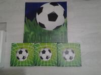 football canvas pictures