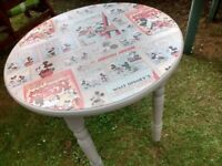 Table Disney Vintage Mickey Mouse