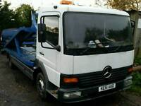 Mercedes atego 2 car recovery truck