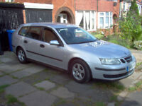 saab 1.9 tdi sport estate 2006 fsh mot june 19,excellent clean vehicle,any inspection welcome.