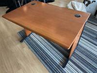 Large Wooden Office Desk 120cm W x 80cm D x 70-75cm H