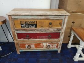 NEW Ex Showroom Display Industrial 3 drawer chest RRP £549