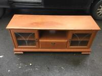 Large solid tv stand