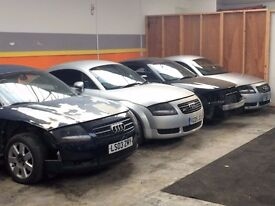 AUDI TT 225, 180 BHP BREAKING ALL PARTS FOR SALE
