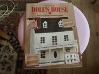 NEW BUILT WOODEN DOLLS HOUSE ROOF AND FRONT OPEN