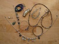 Assorted Jewellry including some Silver