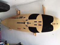 Fanatic Viper Windsurf board complete set. Perfect beginners/intermediate board