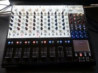 Korg Zero8 8-Channel DJ Mixer Firewire MIDI Controller Audio interface KAOSS FX