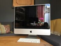 Apple iMac 24 early 2009 intel core 2 duo memory 1T in mint condition
