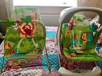 Fisher price chair and rocker
