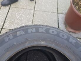 Three Brand new hankook 185/65/15