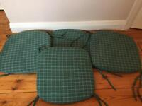 Set Of 4 Chair Cushion Covers