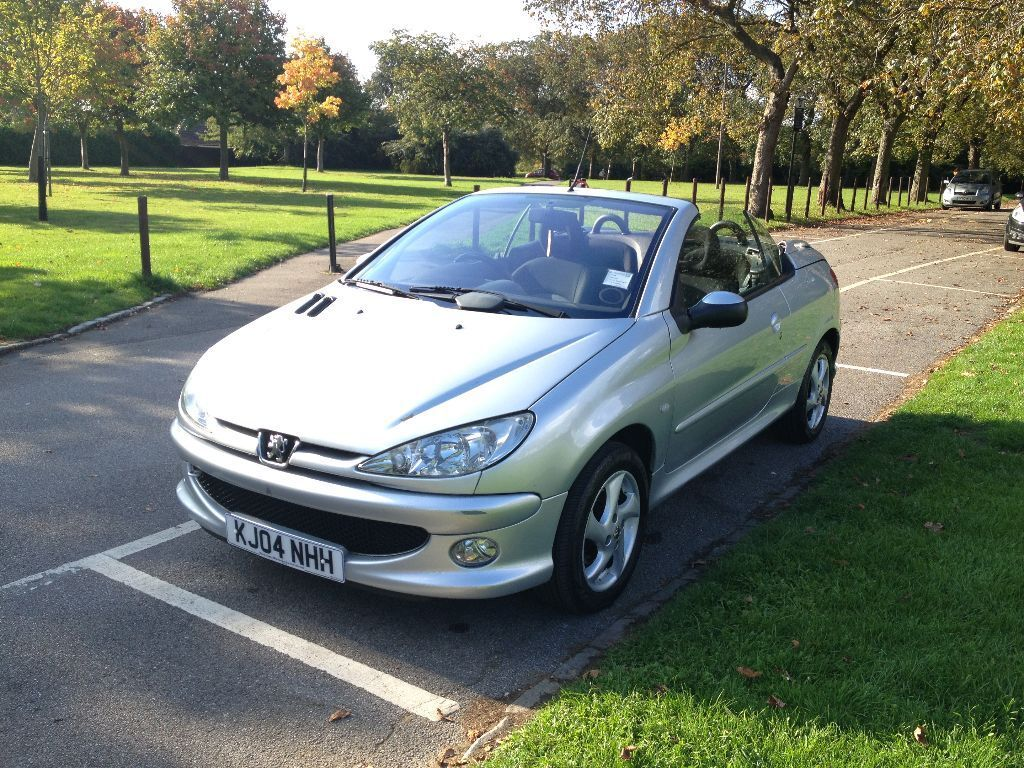 peugeot 206 coupe cabriolet 1 6 s 2dr hpi clear full service history 1295 in manor park. Black Bedroom Furniture Sets. Home Design Ideas