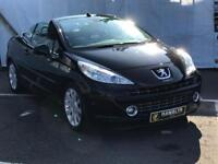 2007 Peugeot 207cc 1.6 Convertible *Low Mileage* Air Conditioning, Alloys, 12 Month Mot, Warranty
