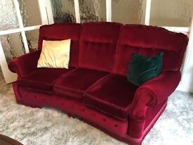 Settee and Armchairs - make an offer