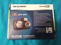 Nextbase 412GW Dash Cam & Hardwire kit