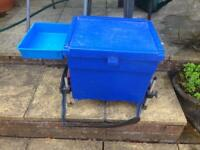 Shakespeare Coarse fishing seat box with octoplus legs check this out