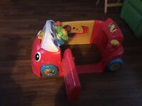 Fisher price interactive laugh and learn crawl around car