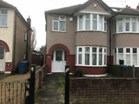 3 Bed semi detached house to rent