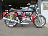 New - 535cc Royal Enfield Continental GT - £5199. Finance, 2 Yrs Full Warranty. Beautiful Cafe Racer