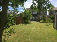 4-Bed Detached House, in small village, delightful gardens, stunning views and sunsets over fields.
