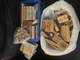 Assorted stamps for craft