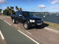Ford ranger 4wd pick up truck towbar