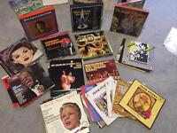 Record Collection- over 75 lps + 3 Box Sets Sinatra, jazz & swing, easy £25 Ono