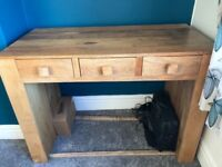 Solid Mango desk for sale.