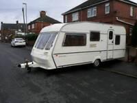 1994 Abbey gts 5 berth caravan